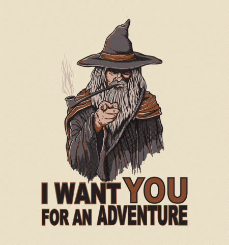 BustedTees: I Want You For An Adventure