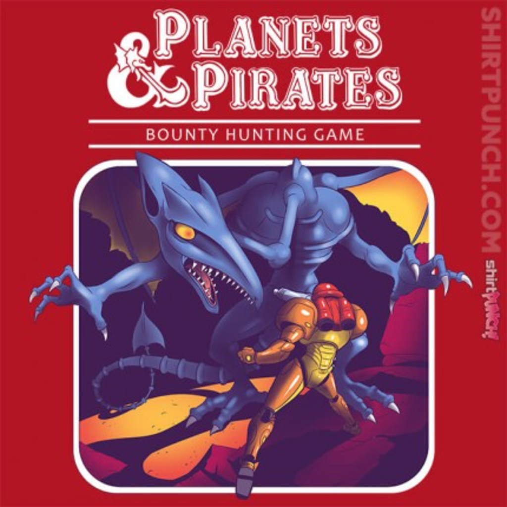 ShirtPunch: Planets and Pirates