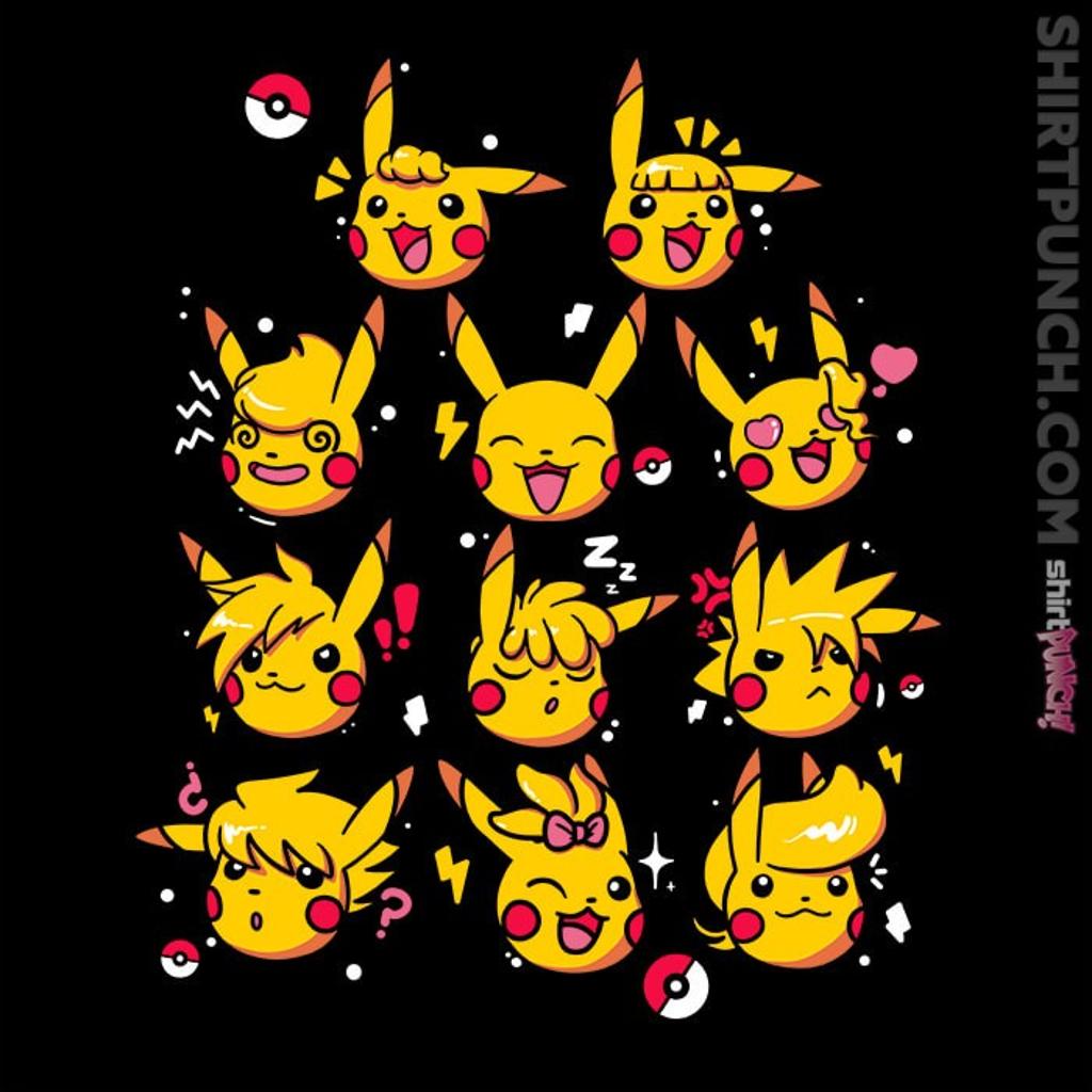 ShirtPunch: Pikachu Hairstyles
