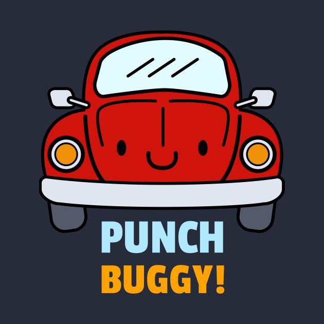 TeePublic: PUNCH BUGGY CAR