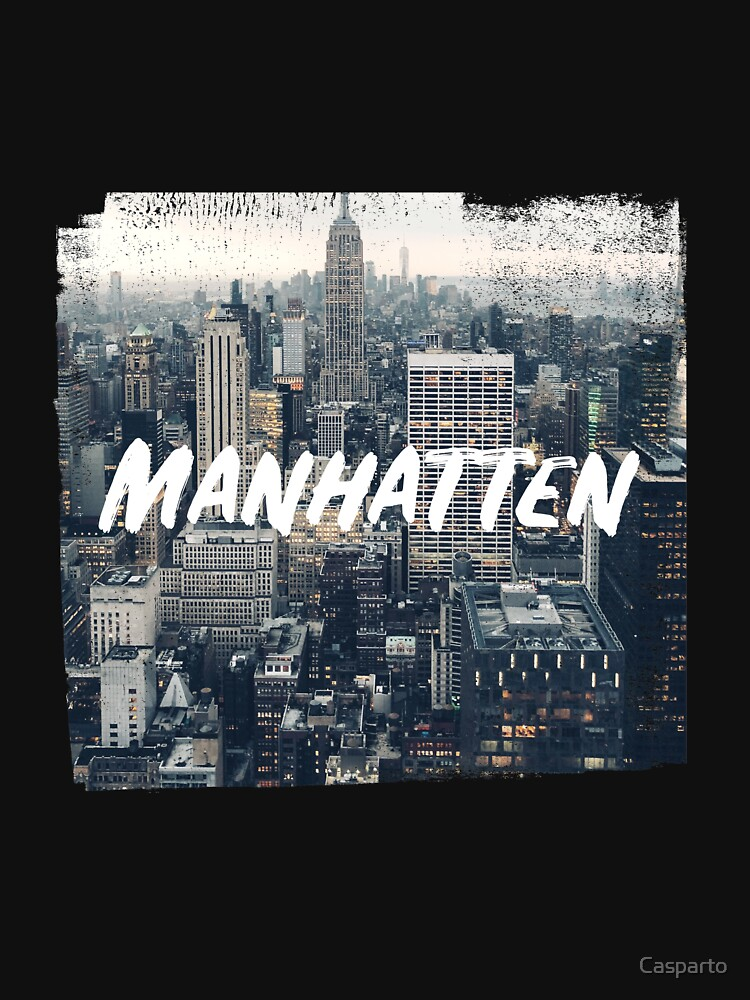 RedBubble: Manhattan Skyline Grunge Style Gift