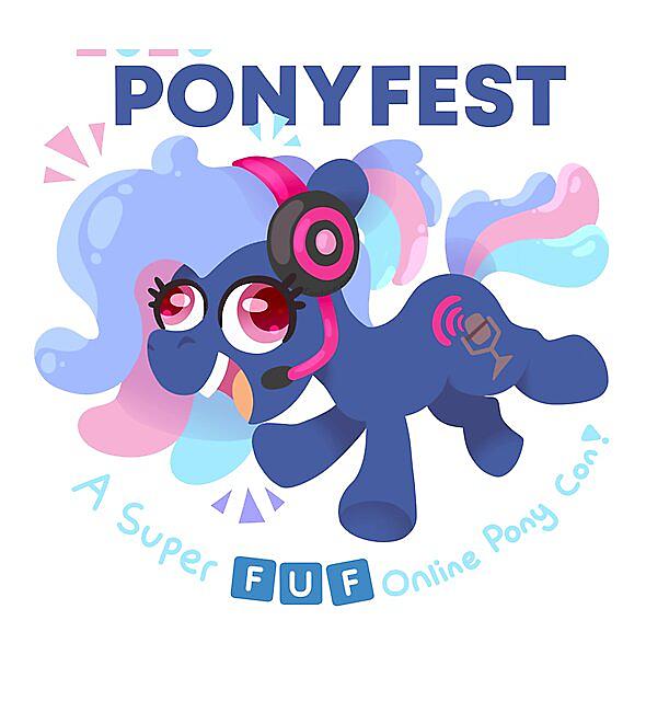 RedBubble: PonyFest 2020 - A FUF con!