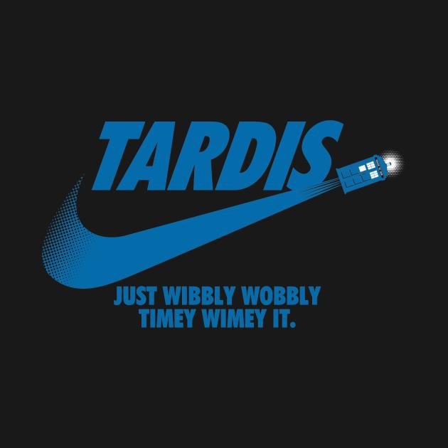 TeePublic: Just Wibbly Wobbly Timey Wimey It