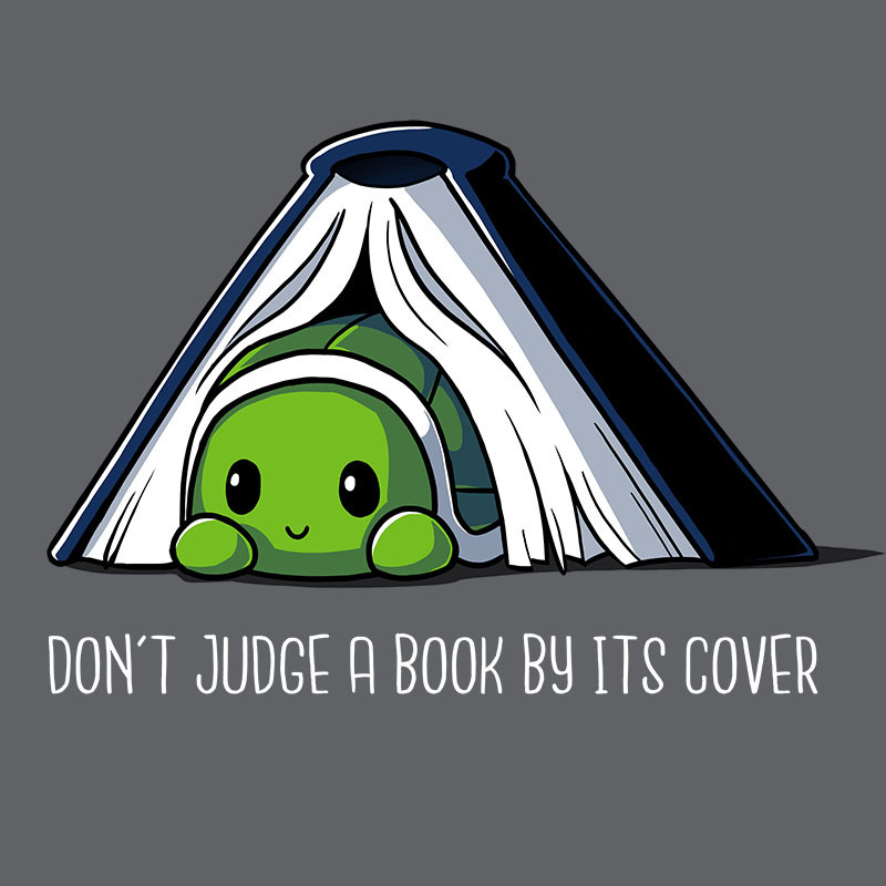 TeeTurtle: Don't Judge A Book By Its Cover