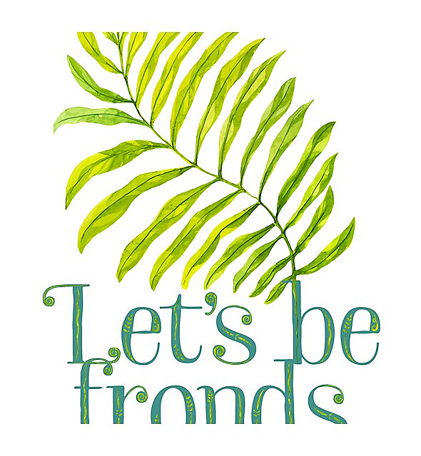 RedBubble: Let's be fronds.