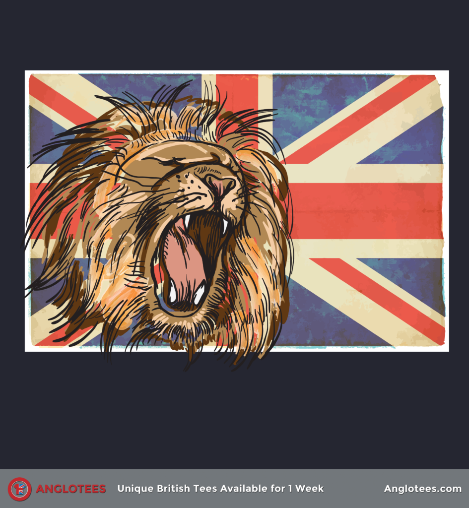 Anglotees: The Lion Roars