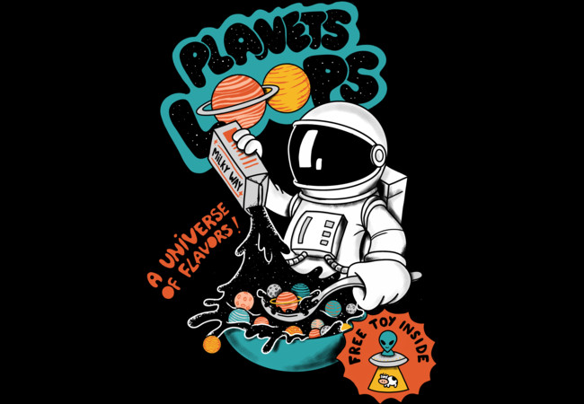Design by Humans: Planets Cereal