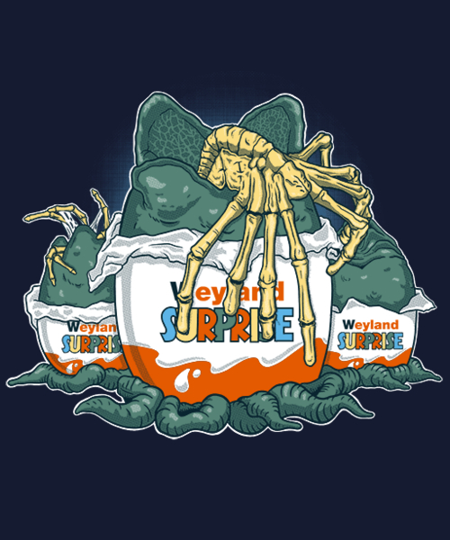 Qwertee: Weyland Surprise