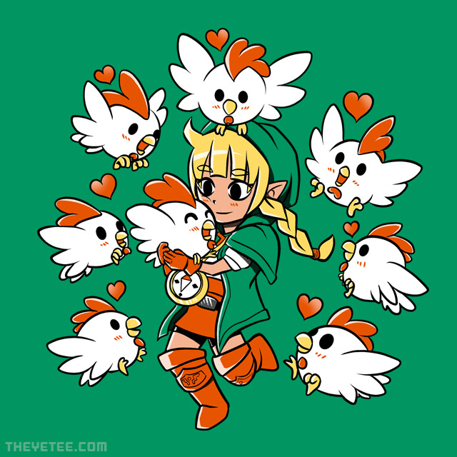 The Yetee: Linkle the Cucco Queen