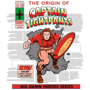 We Heart Geeks: Captain Tightpants