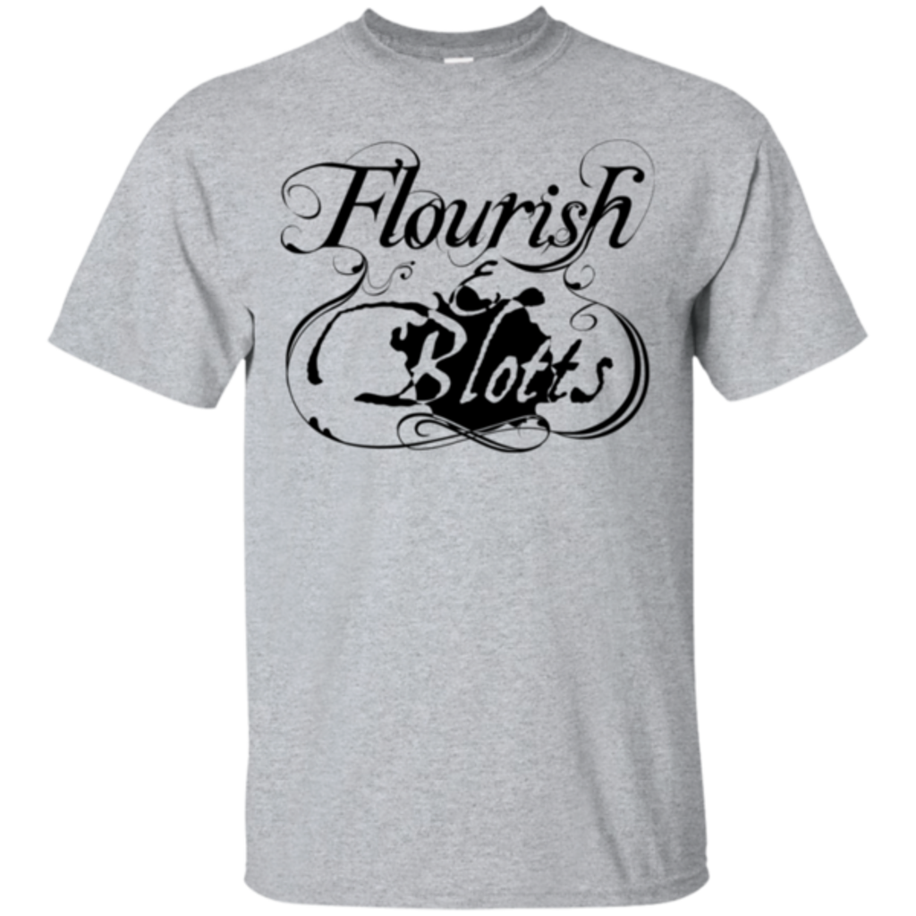 Pop-Up Tee: Flourish and Blotts of Diagon Alley