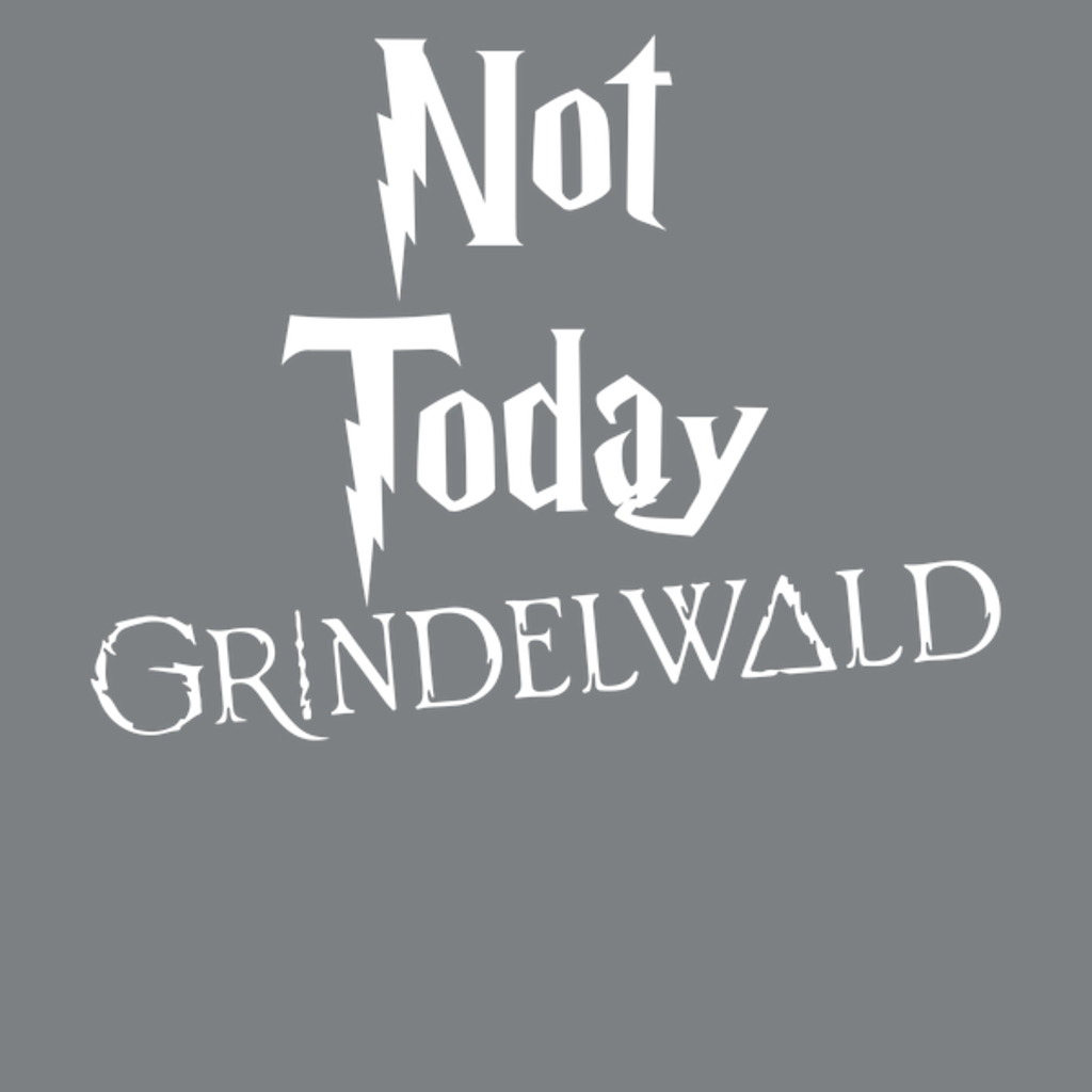 NeatoShop: Not Today Grindelwald