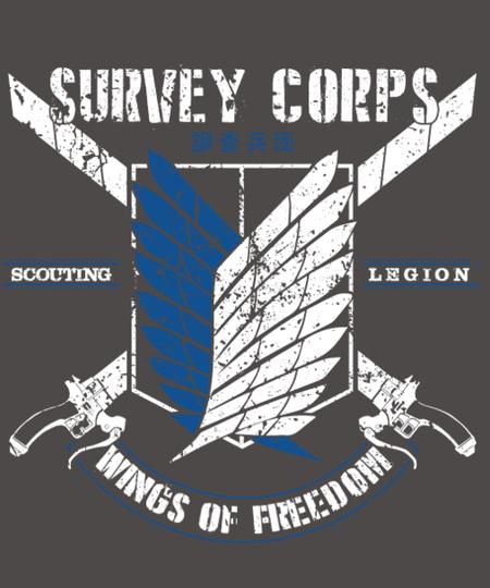 Qwertee: Survey Corps