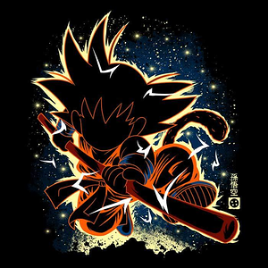 Once Upon a Tee: The Kid Saiyan