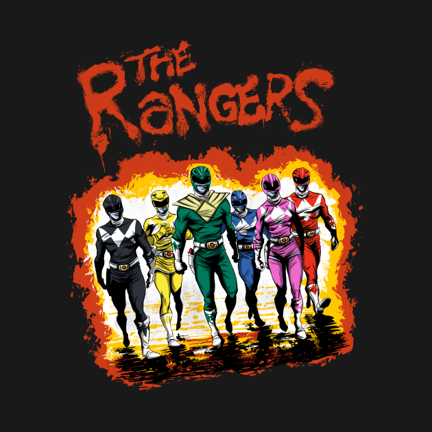 TeePublic: The Rangers