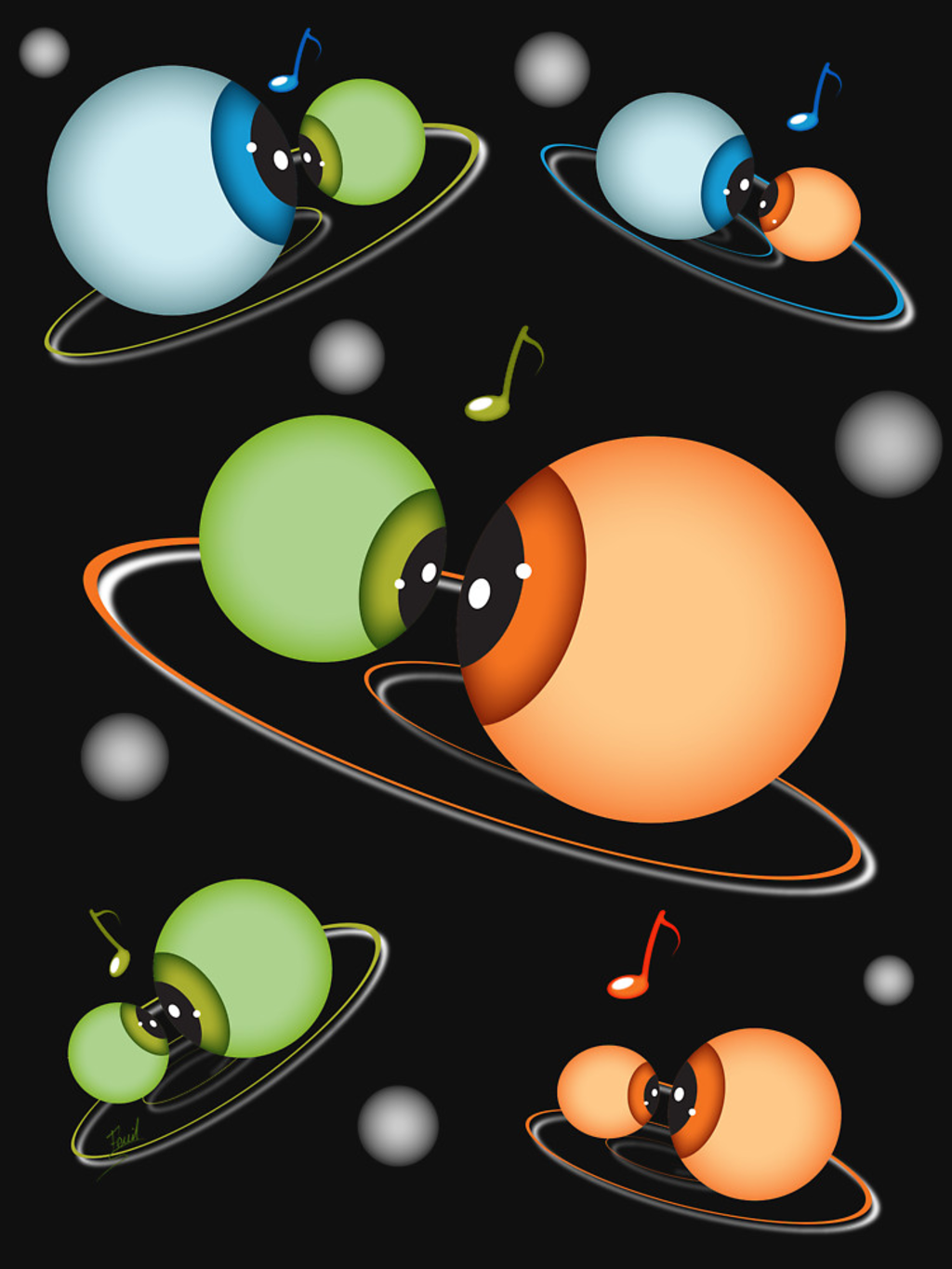 RedBubble: ORBITES