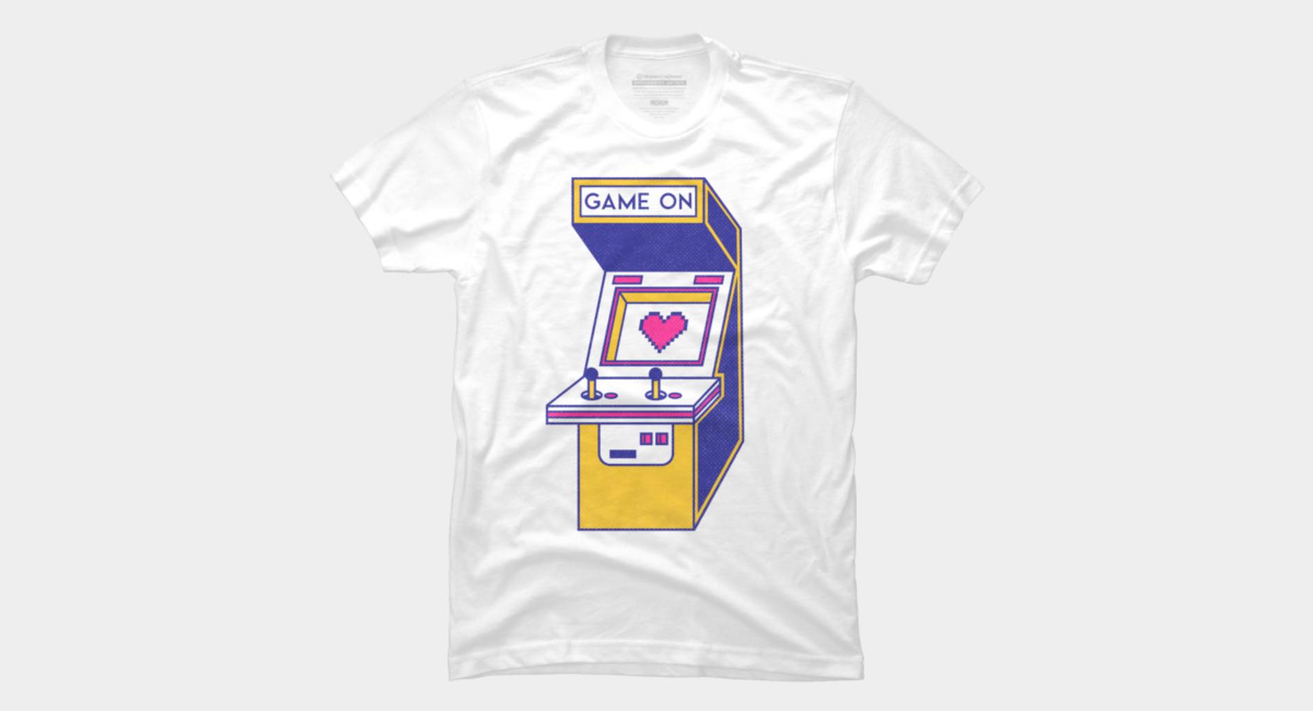 Design by Humans: Retro Arcade Video Game