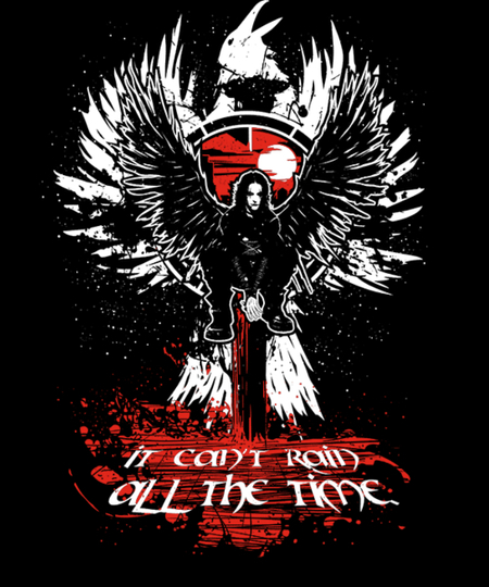 Qwertee: Raining all the time