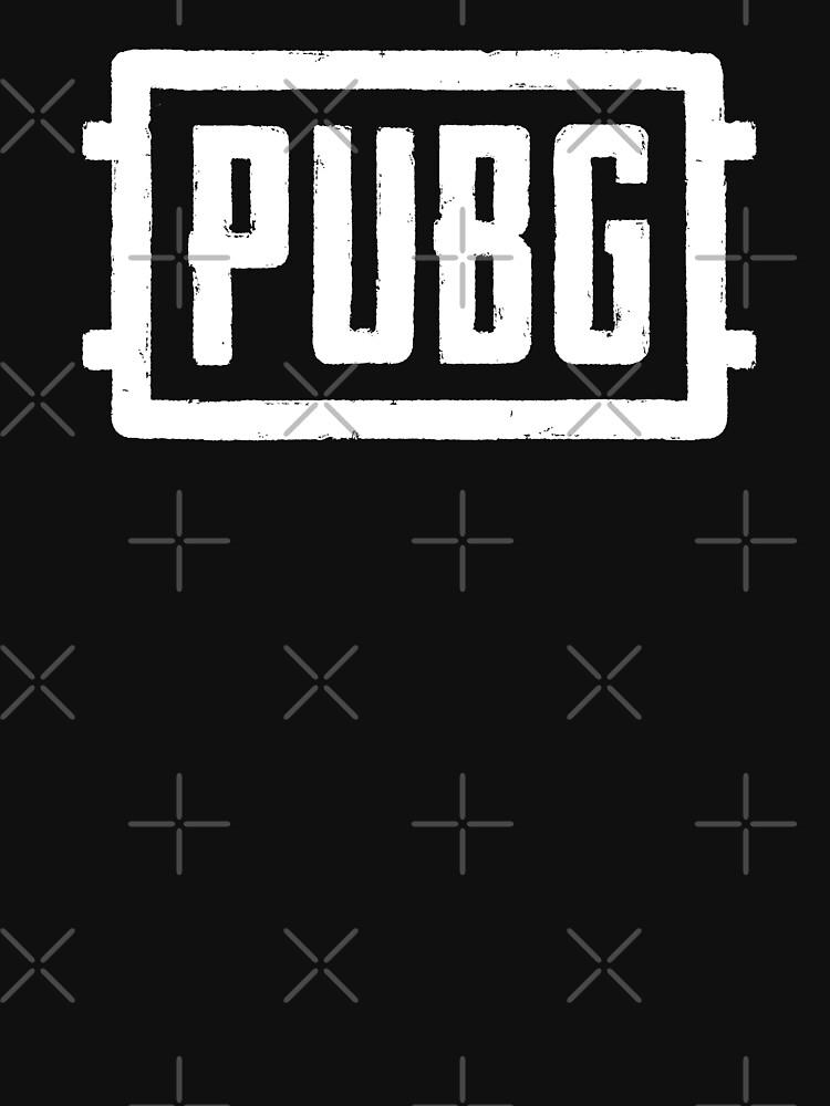 RedBubble: PlayerUnknown's Battlegrounds - PUBG - White