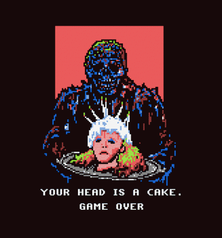 BustedTees: Game Over Bedelia