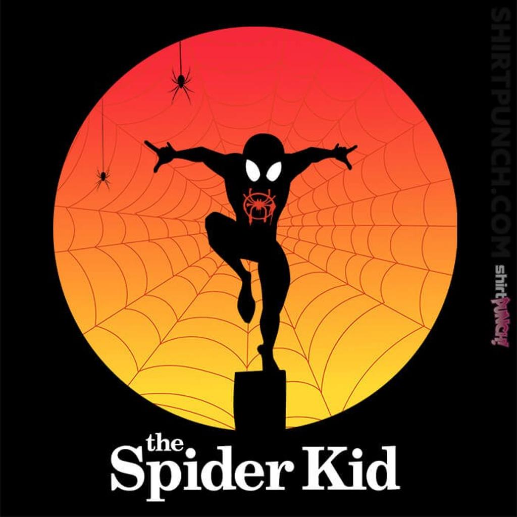 ShirtPunch: The Spider Kid