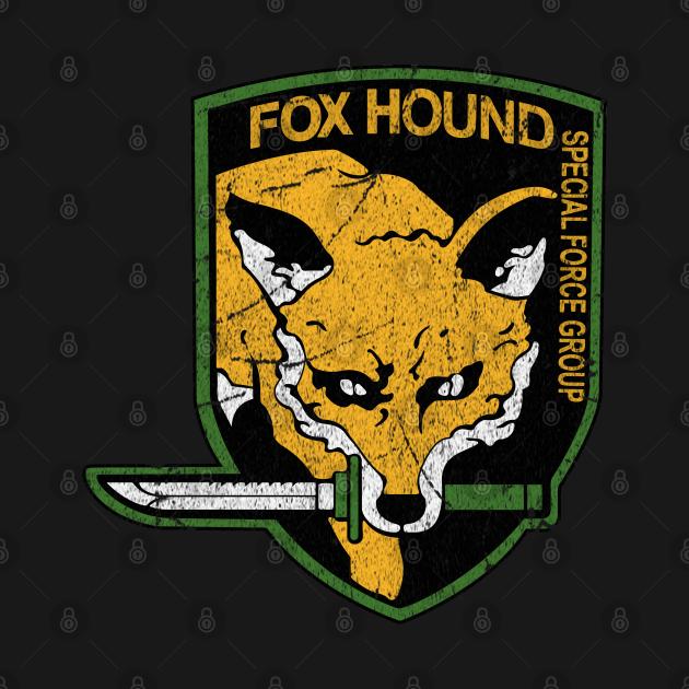 TeePublic: Metal Gear Solid Fox Hound