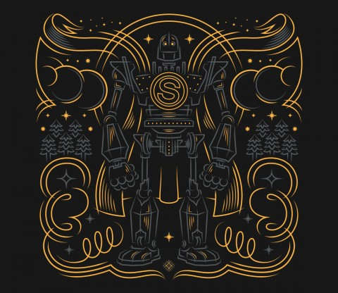 TeeFury: Iron Super Man