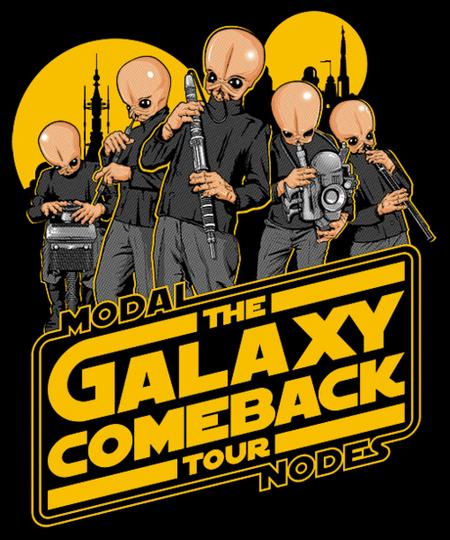 Qwertee: GALAXY COMEBACK