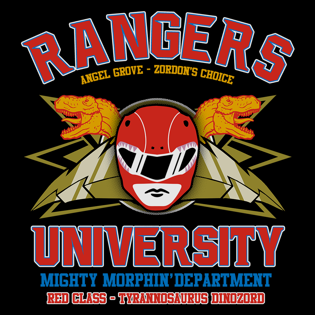 Pop-Up Tee: Rangers U Red