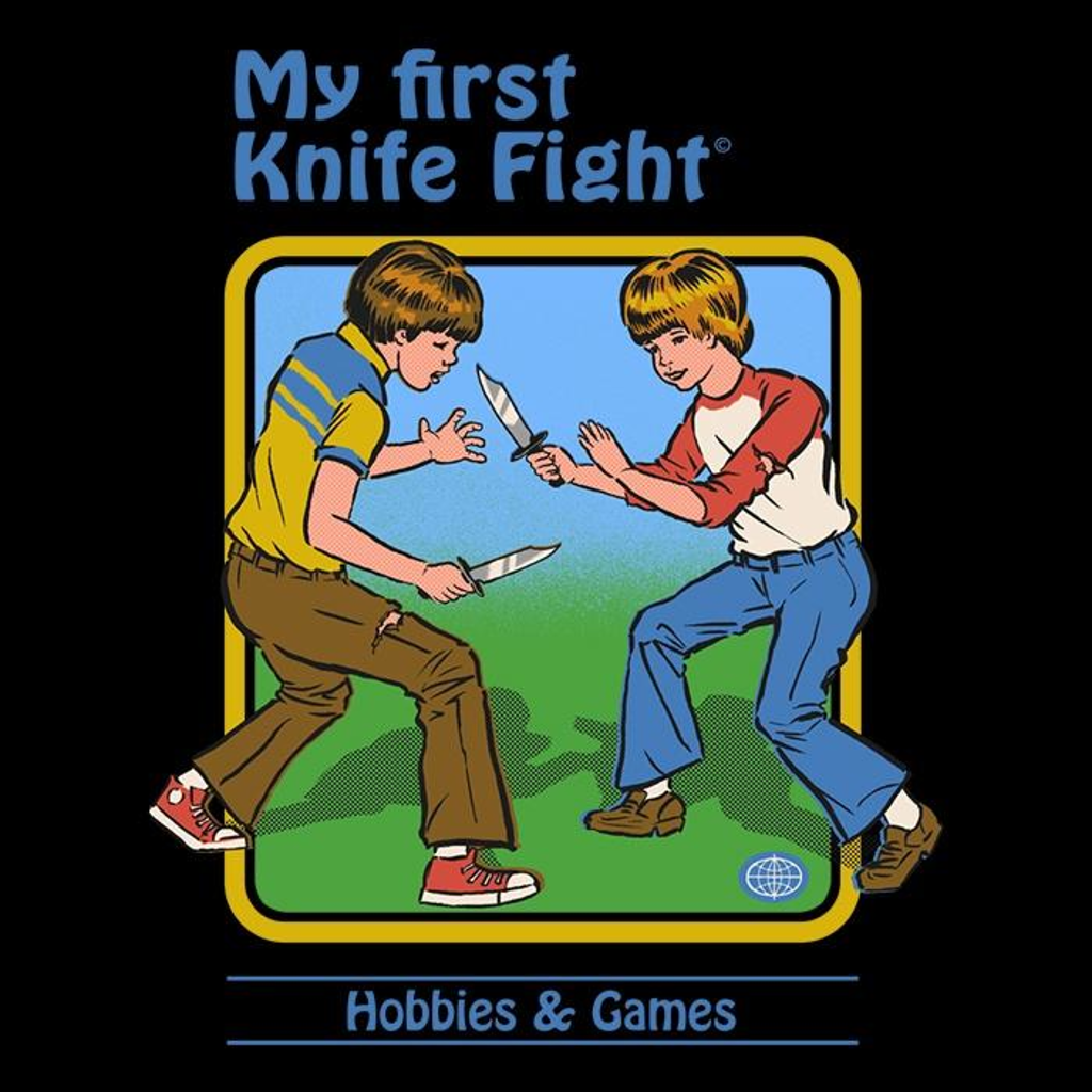 Once Upon a Tee: My First Knife Fight