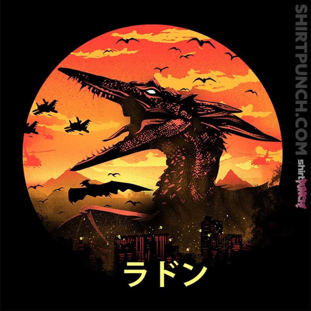 ShirtPunch: The Fire Pteranodon