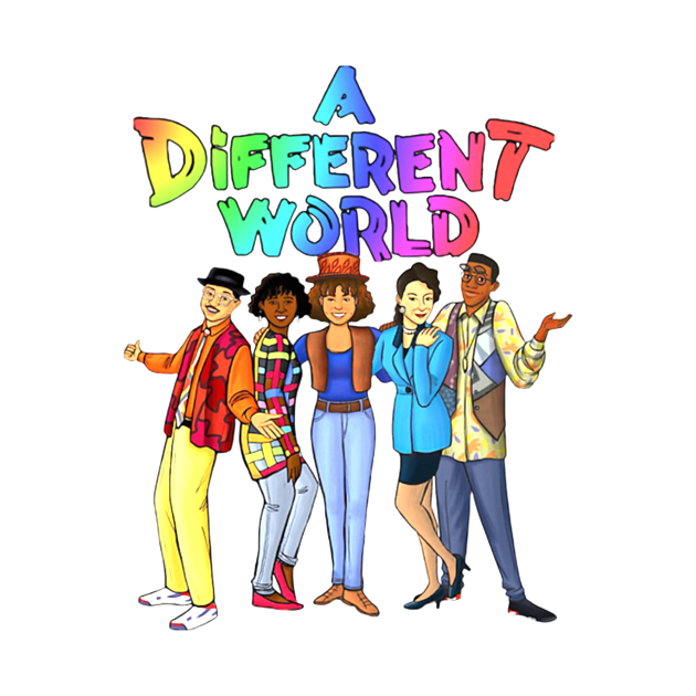 TeePublic: Mens Womens A Different World