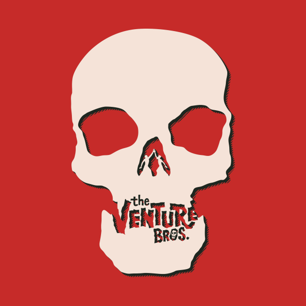 TeePublic: Venture Bros. Skull - 1