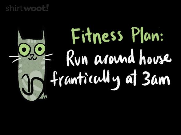 Woot!: Cat Fitness Plan