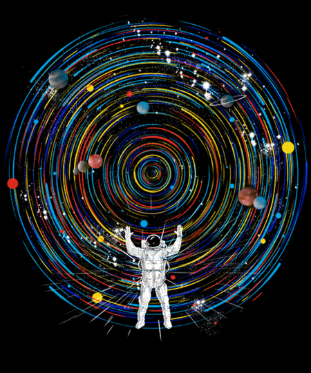 Qwertee: space dj