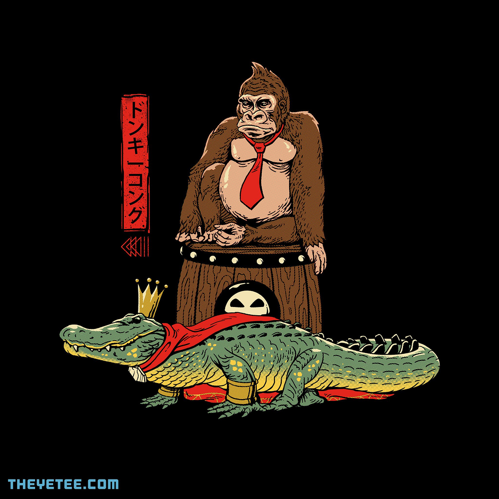 The Yetee: The Crocodile and the Gorilla