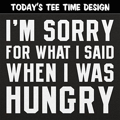 6 Dollar Shirts: Hungry Apology