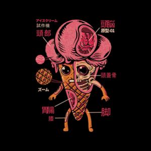 Threadless: Ice Cream Kaiju