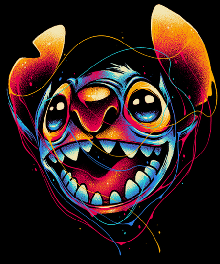 Qwertee: Colourful Friend
