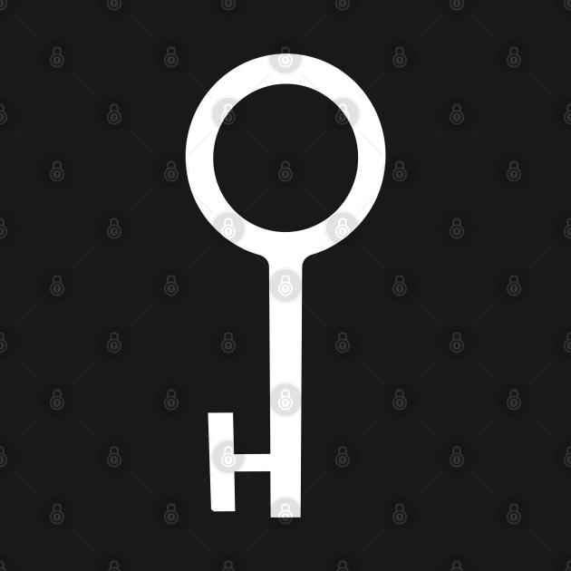 TeePublic: Female Key