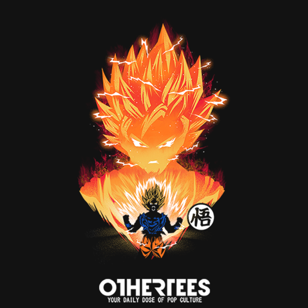 OtherTees: The Angry Super Saiyan