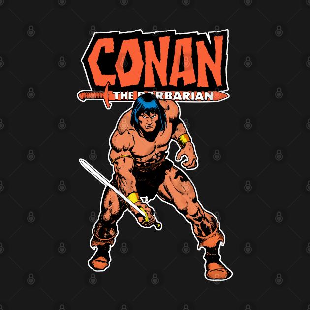 TeePublic: Conan The barbarian V.2
