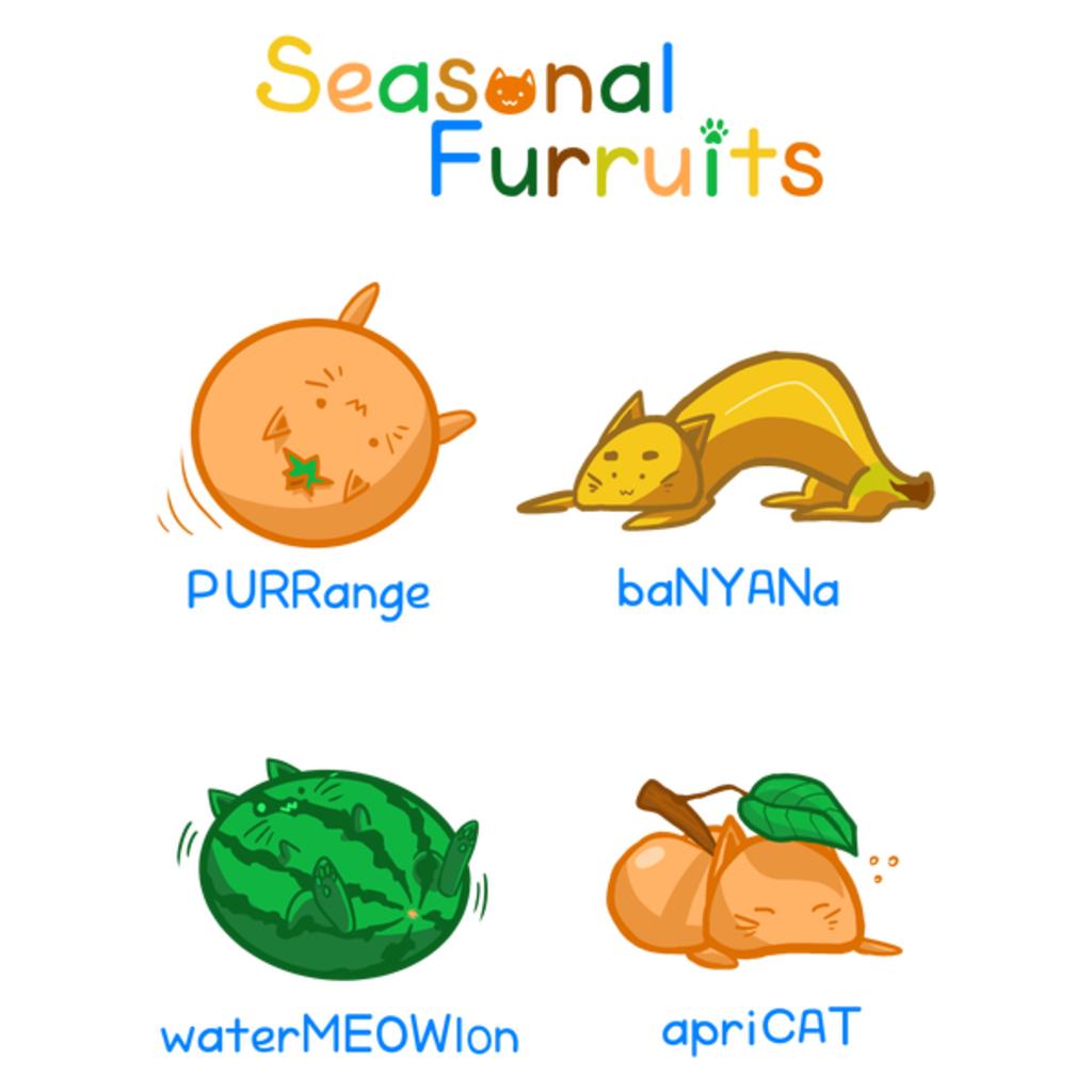 NeatoShop: Seasonal furruits