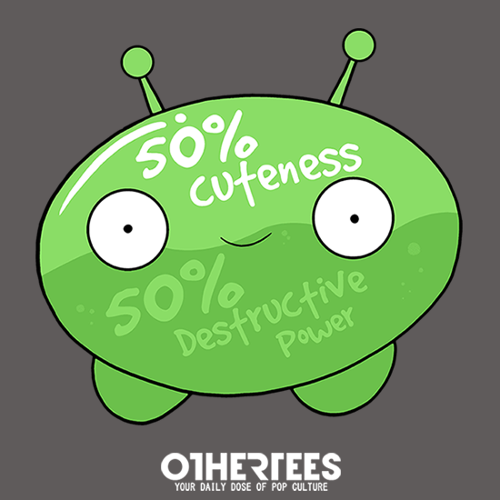 OtherTees: Fifty Percent of Cuteness