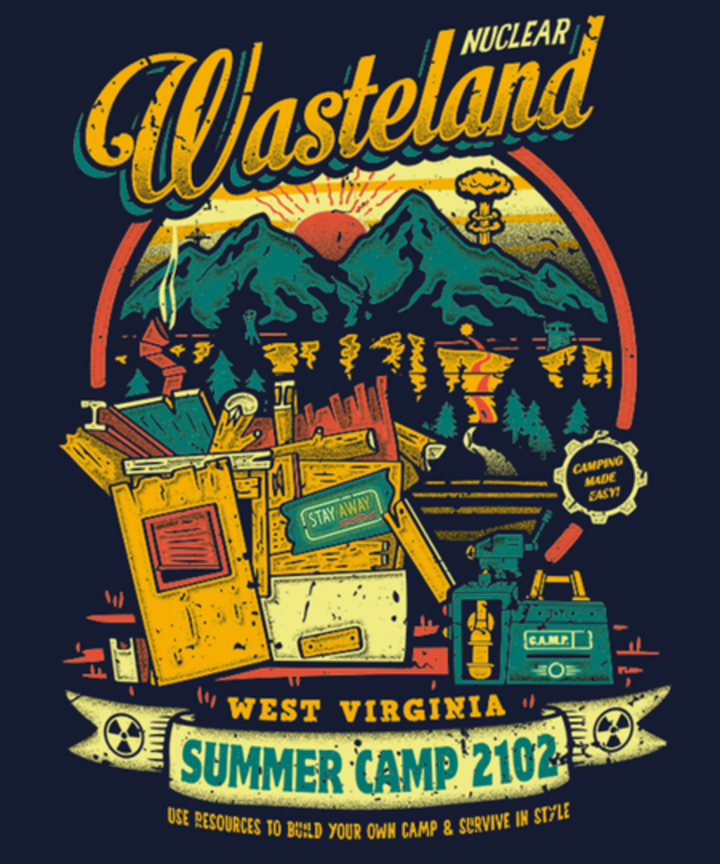 Qwertee: Nuclear Summer Camp