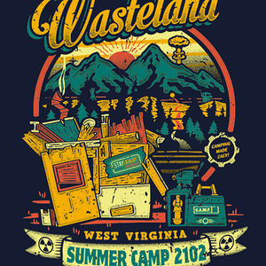 Qwertee: Nuclear Summer Camp