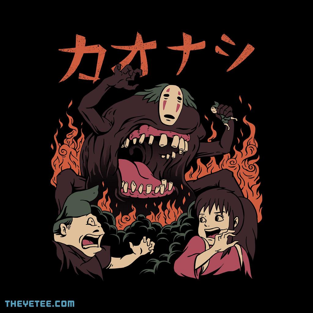 The Yetee: Kaiju Kaonashi