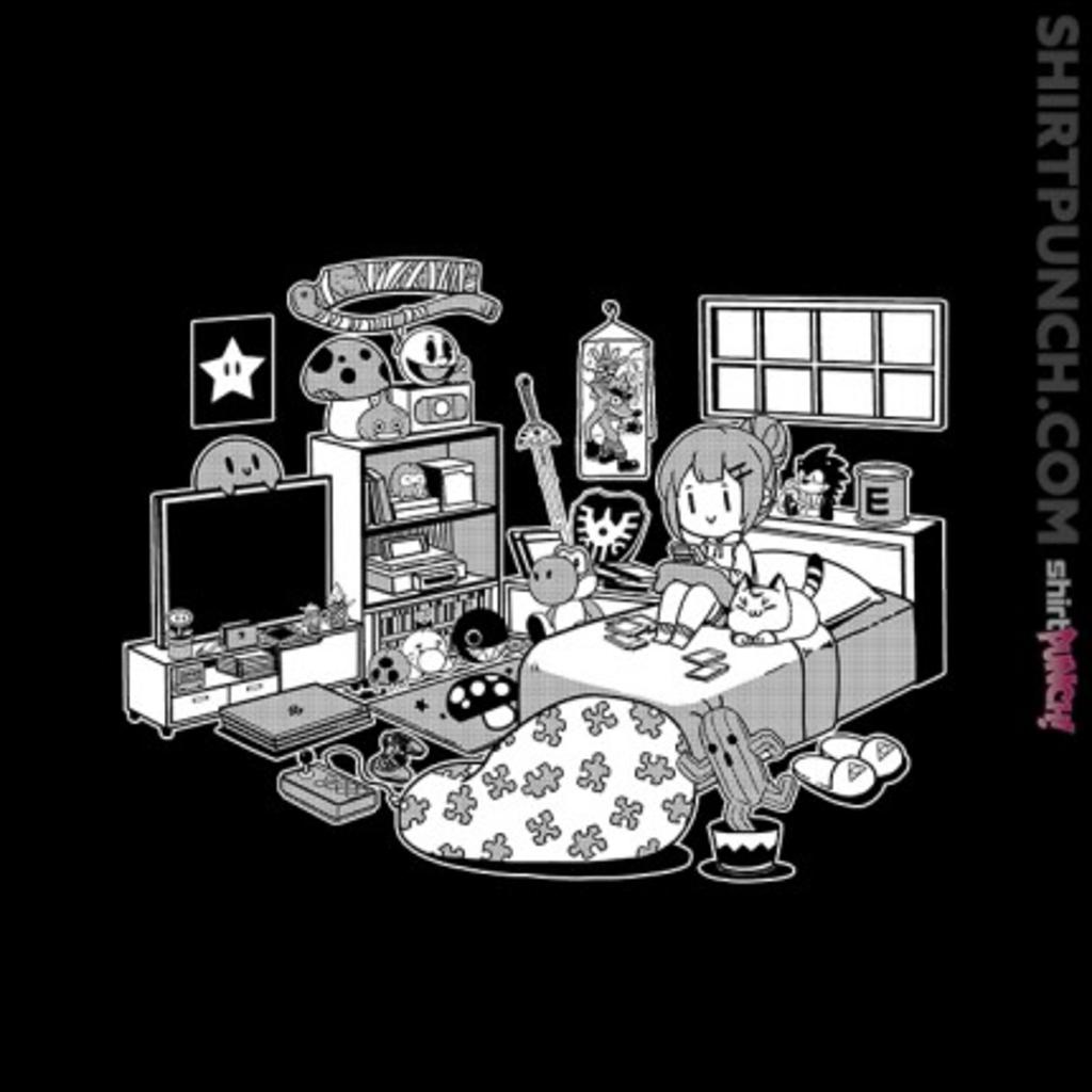 ShirtPunch: Gamer Gal