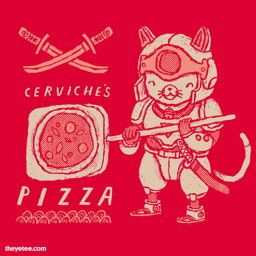 The Yetee: Cerviche's pizza