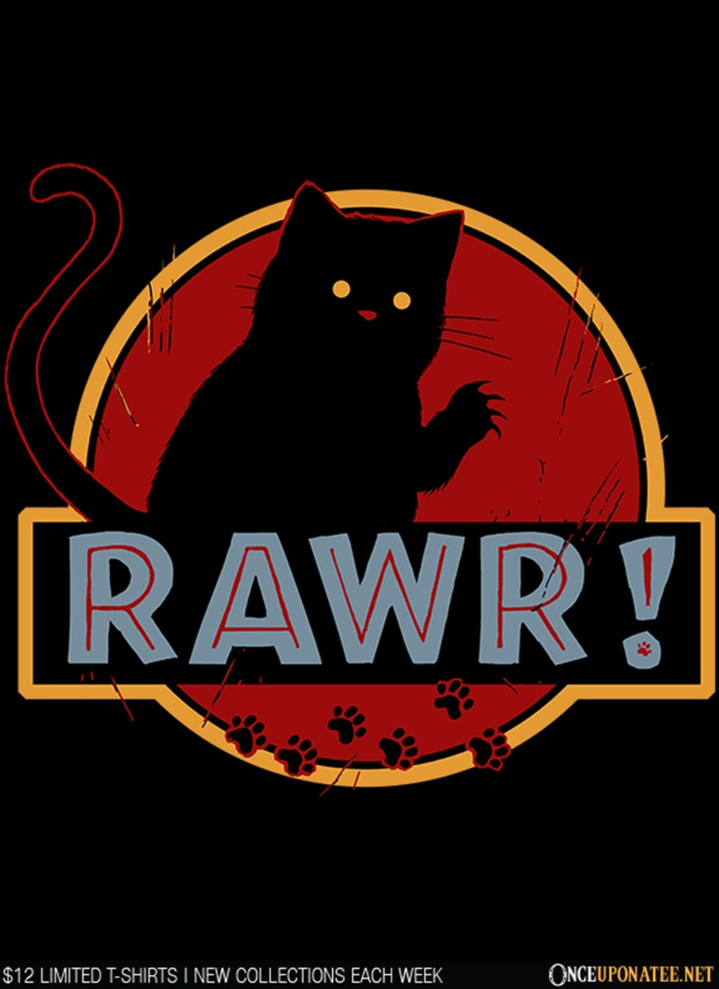Once Upon a Tee: Rawr